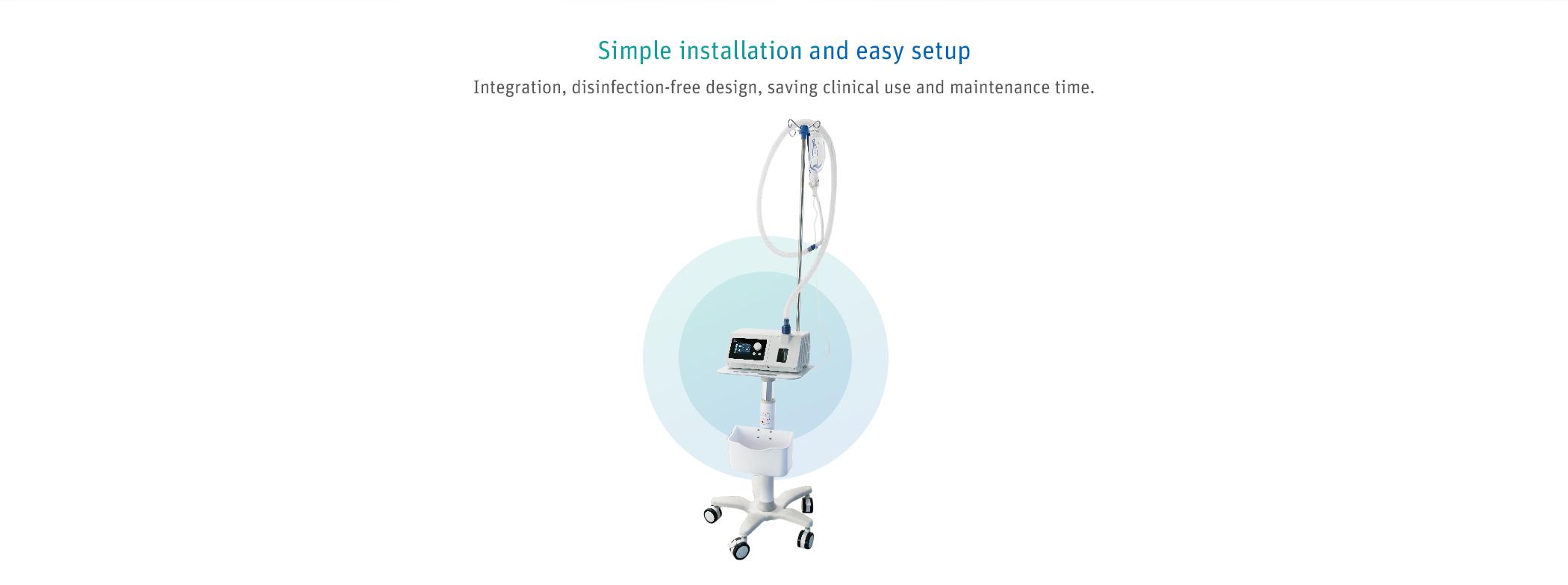 R Series Respiratory Insufficiency Ventilator